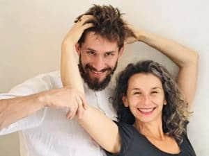 Krzysztof Stefanek i Hania Lubek